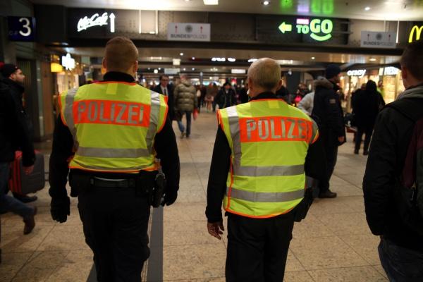 Foto: Bundespolizei im Bahnhof, über dts Nachrichtenagentur