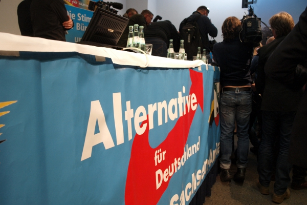 Journalisten bei der AfD, über dts Nachrichtenagentur