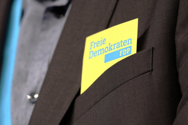 Foto: FDP-Logo, über dts Nachrichtenagentur