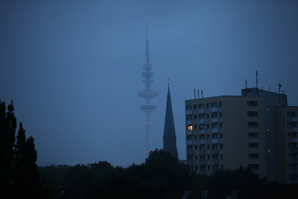 Foto: Heinrich-Hertz-Turm in Hamburg, über dts Nachrichtenagentur