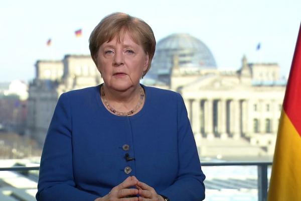 Merkel am 18.03.2020, über dts Nachrichtenagentur