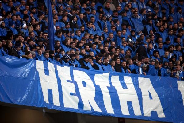 Fans von Hertha BSC, über dts Nachrichtenagentur