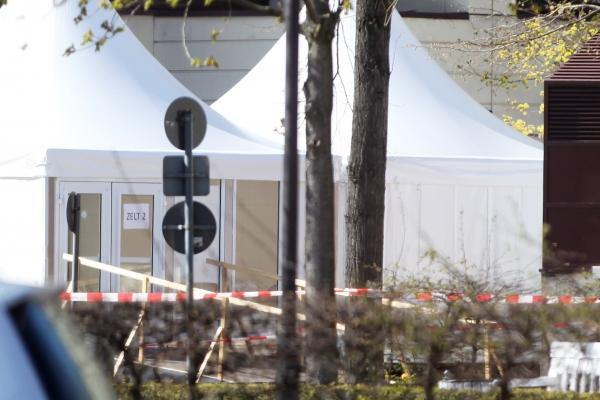 Foto: Corona-Testzentrum, über dts Nachrichtenagentur