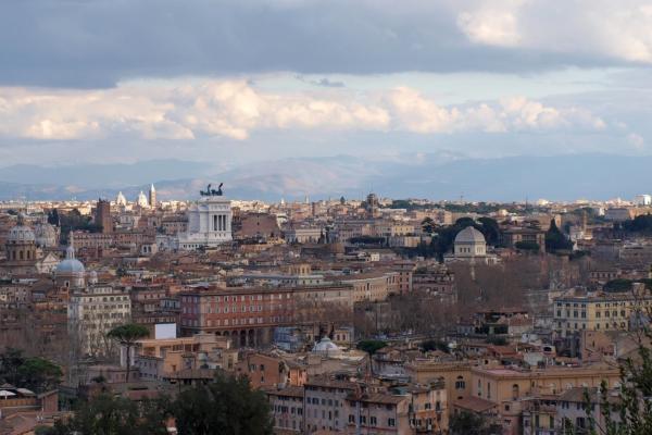 Foto: Blick über Rom, über dts Nachrichtenagentur