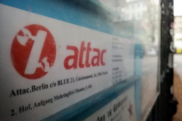 Attac, über dts Nachrichtenagentur