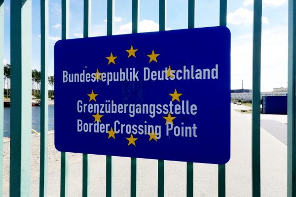 Foto: Deutsche Grenze, über dts Nachrichtenagentur