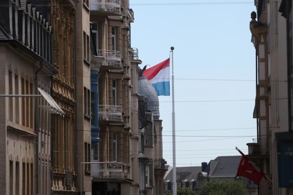 Fahne von Luxemburg, über dts Nachrichtenagentur