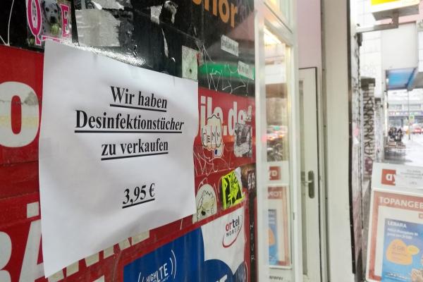 Desinfektionsmittel in der Coronakrise, über dts Nachrichtenagentur