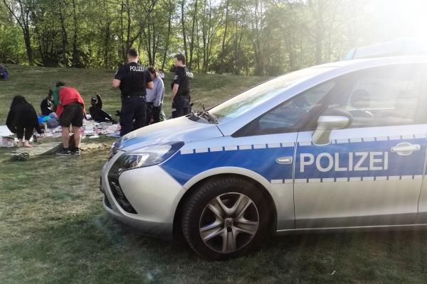 Foto: Kontrolle von Kontaktbeschränkungen, über dts Nachrichtenagentur
