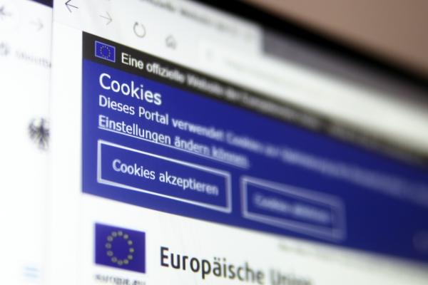 Foto: Cookie-Hinweis, über dts Nachrichtenagentur