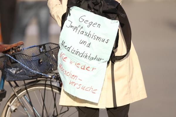 Foto: Corona-Demo, über dts Nachrichtenagentur