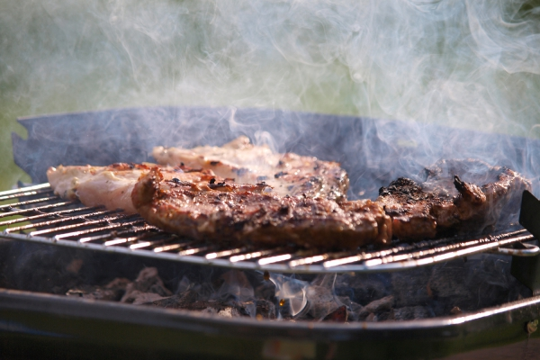 Foto: Steak auf einem Grill, über dts Nachrichtenagentur