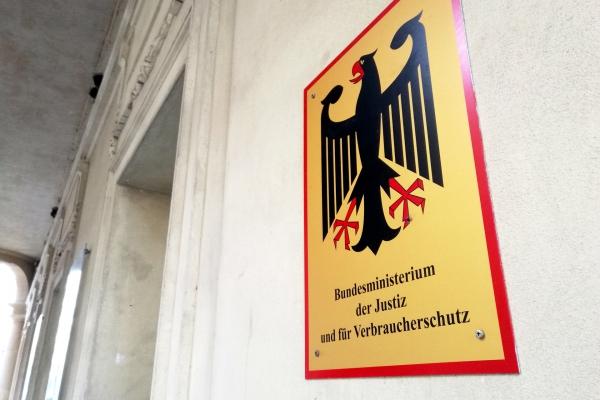Foto: Justizministerium, über dts Nachrichtenagentur