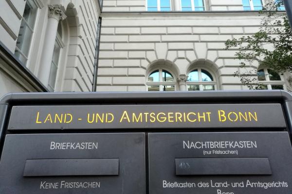 Land- und Amtsgericht Bonn, über dts Nachrichtenagentur
