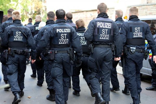 Polizeieinsatz, über dts Nachrichtenagentur