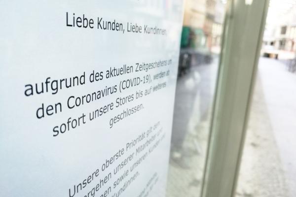 Foto: Wegen Coronakrise geschlossener Laden, über dts Nachrichtenagentur