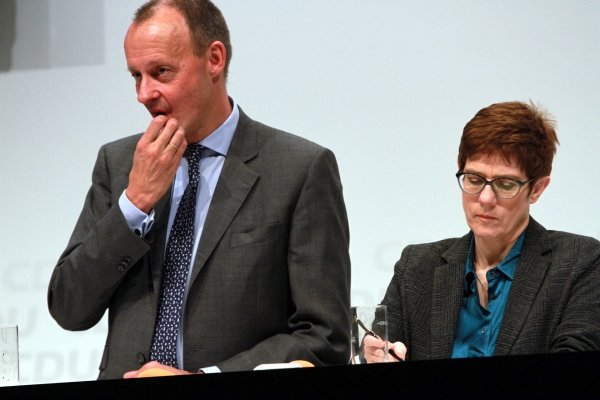 Friedrich Merz und Annegret Kramp-Karrenbauer 2018, über dts Nachrichtenagentur