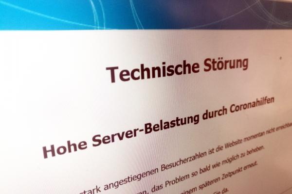 Startseite der Investitionsbank Berlin, über dts Nachrichtenagentur